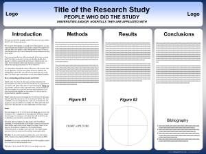 Designing a Research Poster