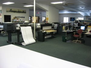 Our poster printing shop