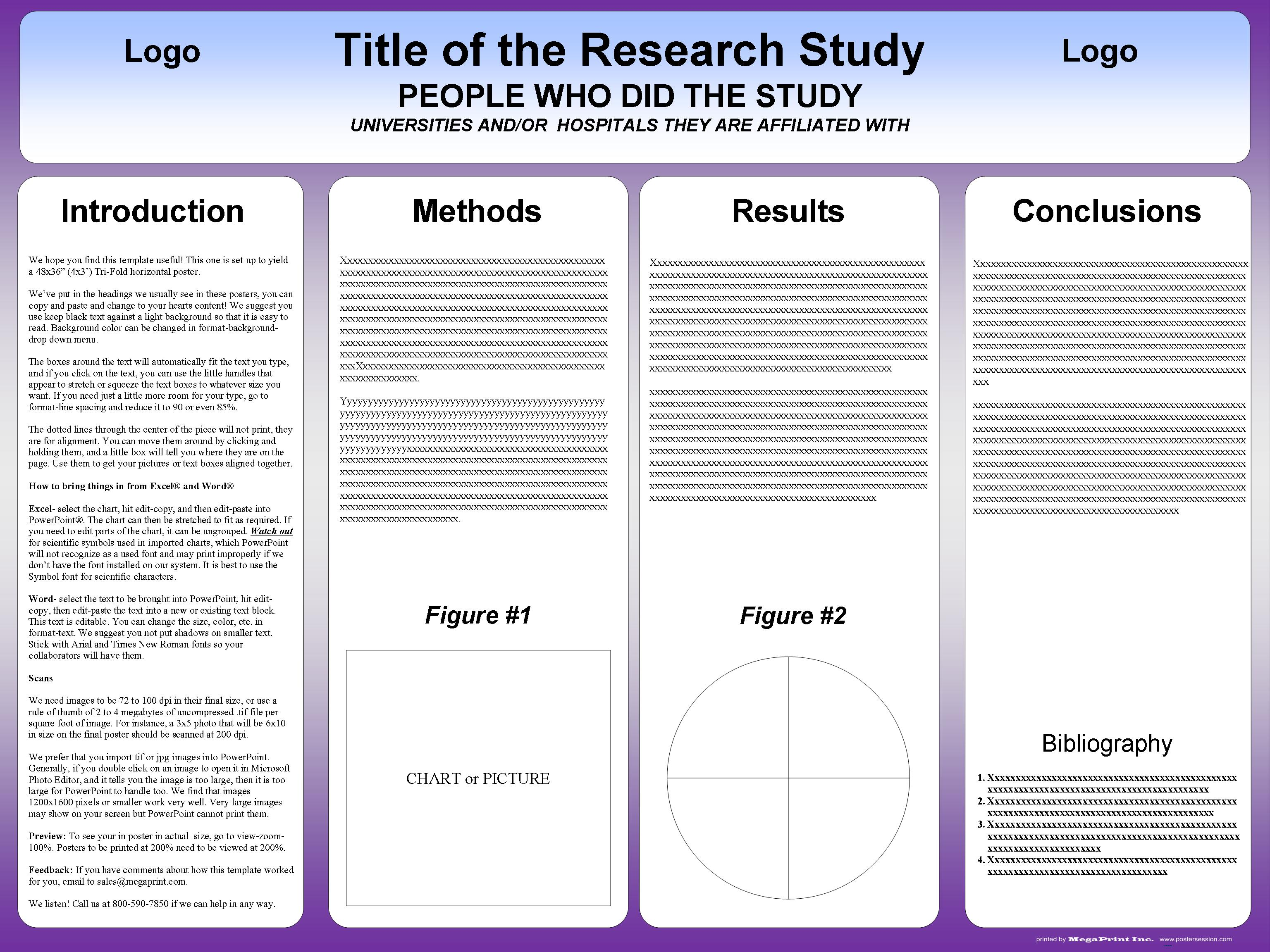 Tri Fold Poster Template | postersession