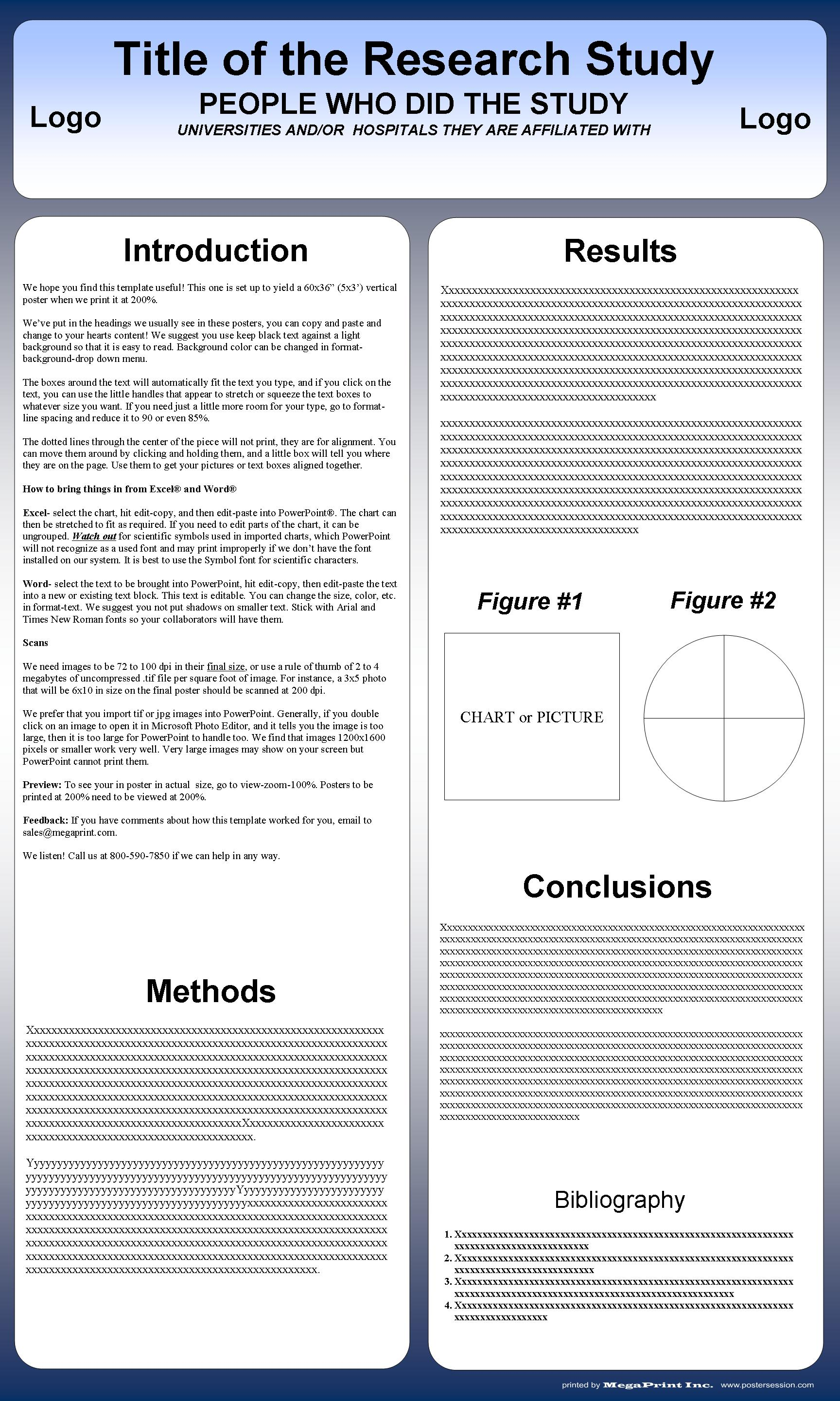 Vertical poster templates for free postersession for Academic poster template powerpoint a2
