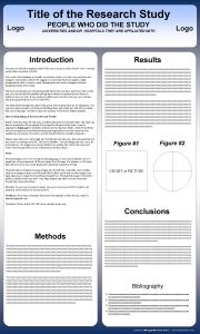 free scientific poster templates