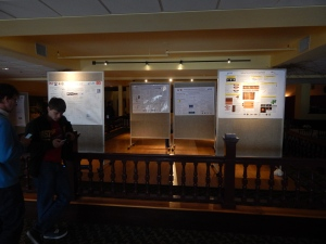 poster session boards