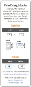 poster proportional app