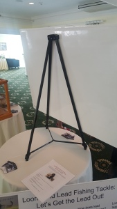 stand for holding a foamcore poster