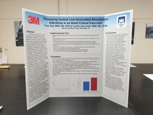 self standing foamcore poster