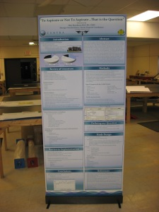 banner stand scientific poster